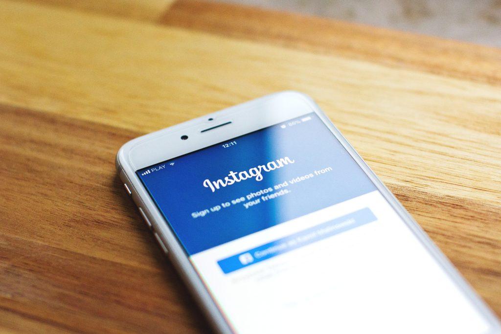 Photo Instagram - Créer un site web Auray Lorient Morbihan
